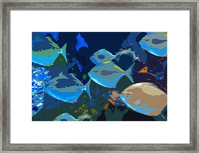Gulf Stream Framed Print by David Lee Thompson