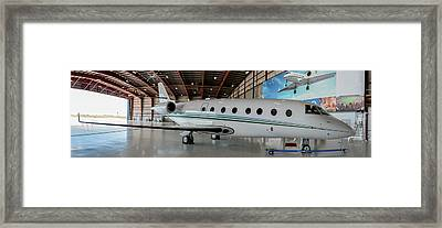 Gulfstream G200 Framed Print by Guy Whiteley