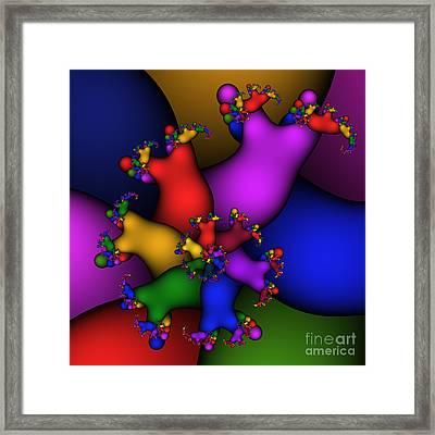 Gummy Bears 186 Framed Print by Rolf Bertram