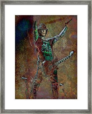 Guns N' Roses Lead Guitarist Dj Ashba Framed Print by Loriental Photography