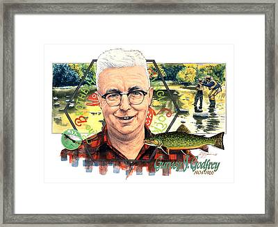 Gurney J. Godrey Framed Print by John D Benson