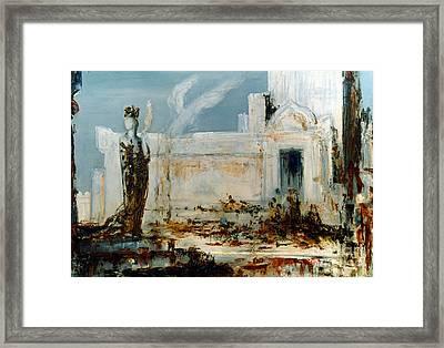 Gustave Moreau: Helene Framed Print by Granger
