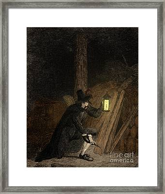 Guy Fawkes, English Conspirator Framed Print by Science Source