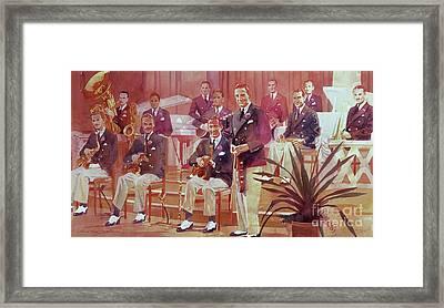 Guy Lombardo The Royal Canadians Framed Print by David Lloyd Glover