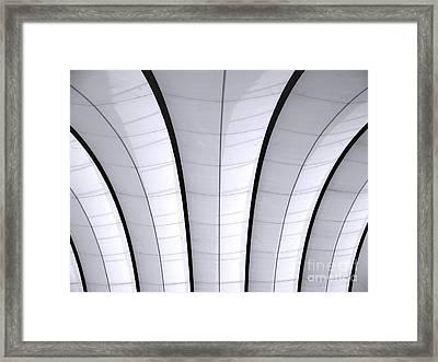Gymnasium Ceiling Framed Print by Yali Shi