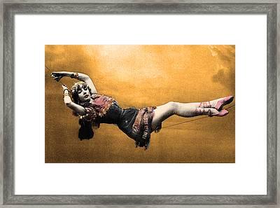 Gypsy Framed Print by Dana Vogel