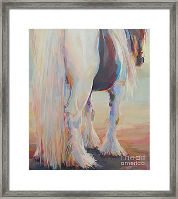 Gypsy Falls Framed Print by Kimberly Santini