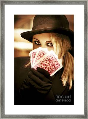 Gypsy Fortune Teller Framed Print by Jorgo Photography - Wall Art Gallery