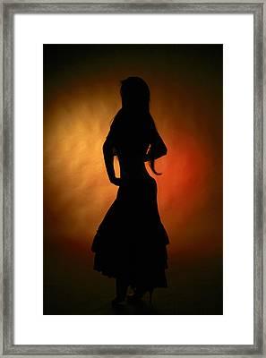 Gypsy Girl Framed Print by Naman Imagery