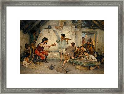 Gypsy School Framed Print by Celestial Images