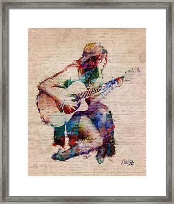 Gypsy Serenade Framed Print by Nikki Smith