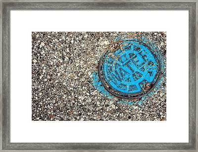 H2O Framed Print by Jame Hayes