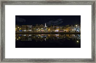 Haarlem Night Framed Print by Chad Dutson
