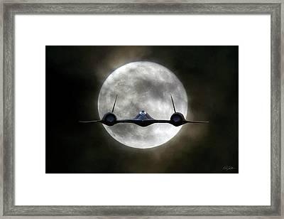 Habu Moon Framed Print by Peter Chilelli