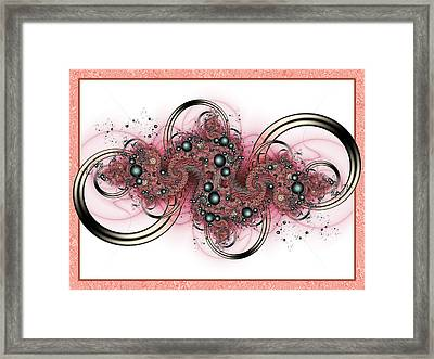 Hadron Collider Framed Print by David April