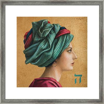 HAI Framed Print by Jose Luis Munoz Luque