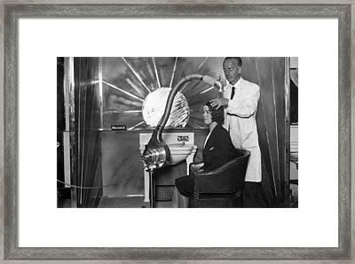 Hairdryer Framed Print by Puttnam