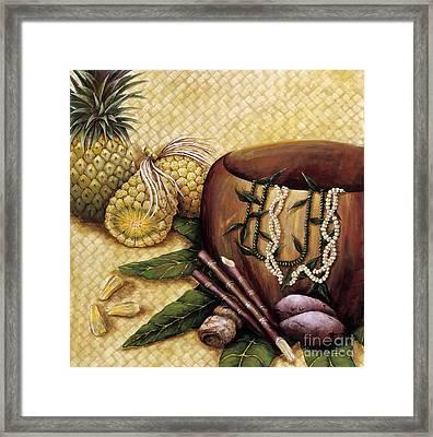 Hala Kahiki Framed Print by Sandra Blazel - Printscapes
