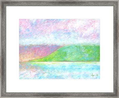 Haleakala Dawn Framed Print by Angela Treat Lyon