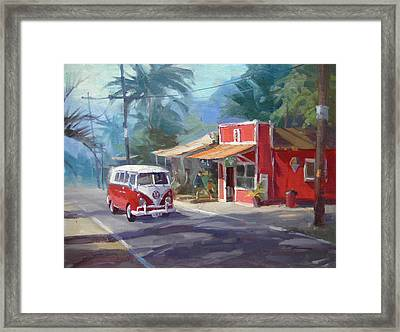 Haleiwa Framed Print by Richard Robinson
