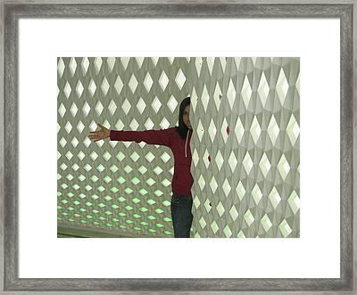 Half And Half Framed Print by Csilla Florida