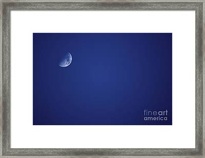 Half Blue Moon Framed Print by Jorgo Photography - Wall Art Gallery