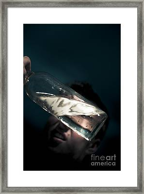 Half Full Or Half Empty Framed Print by Jorgo Photography - Wall Art Gallery
