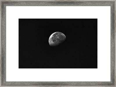 Half Moon Framed Print by Johann Todesengel
