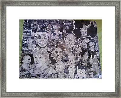 Hall Of Fame Framed Print by Demetrius Washington