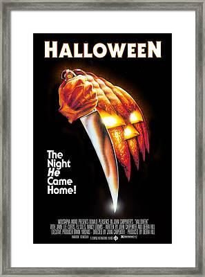 Halloween, 1978 Framed Print by Everett