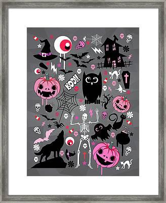 Halloween Night  Framed Print by Mark Ashkenazi