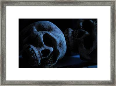 Halloween Skulls Framed Print by Craig Incardone