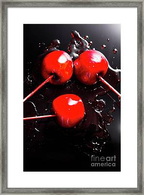 Halloween Toffee Apples Framed Print by Jorgo Photography - Wall Art Gallery