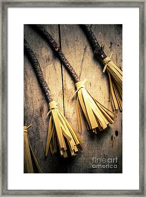 Halloween Witch Craft Framed Print by Jorgo Photography - Wall Art Gallery