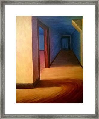 Hallway Framed Print by Joann Renner