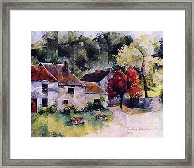 Hamoir Framed Print by Beatrice BEDEUR