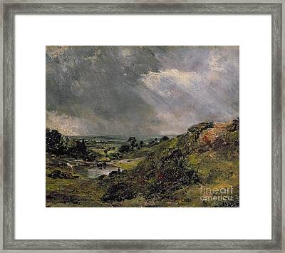 Hampstead Heath Framed Print by John Constable