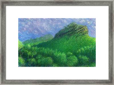 Hanakapia Dream Framed Print by Kenneth Grzesik