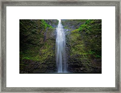 Hanakapiai Falls Framed Print by Andre Distel