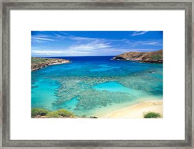 Hanauma Bay Framed Print by Peter French - Printscapes