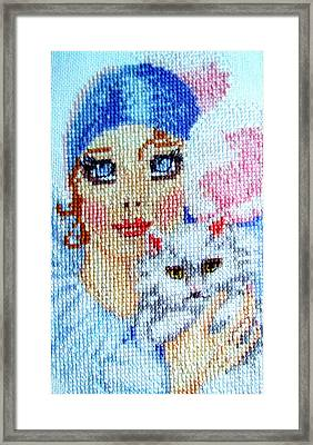 Hand Craft Framed Print by Joyce Woodhouse