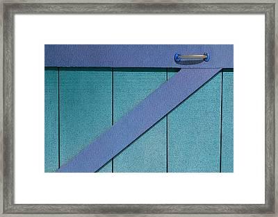 Handle It Framed Print by Paul Wear