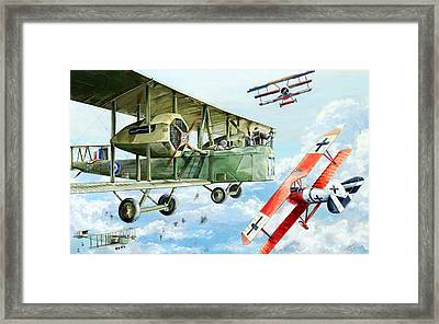 Handley Page 400 Framed Print by Charles Taylor