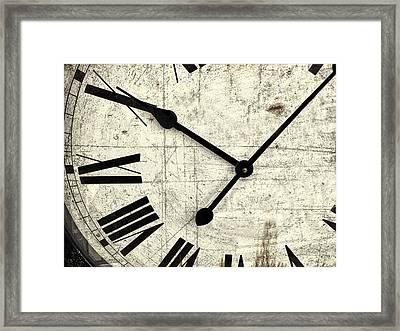 Hands Of Time Framed Print by Andrew Soundarajan