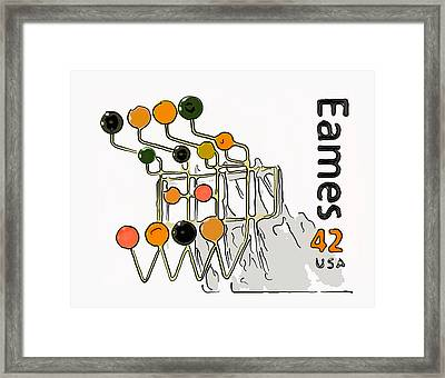Hang-it-all Framed Print by Lanjee Chee
