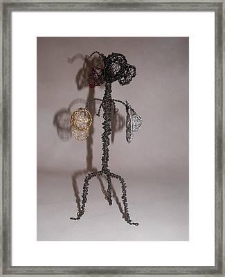 Hang Your Hat Framed Print by Charlene White