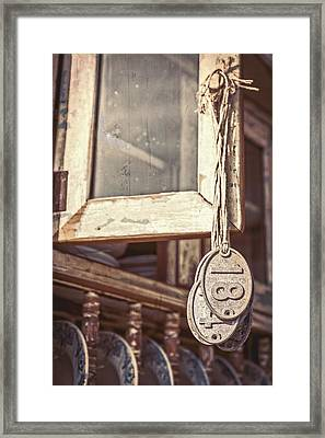 Hanging Eighteen Framed Print by Caitlyn  Grasso