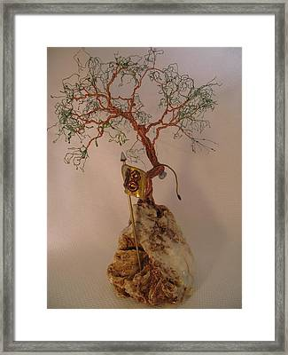 Hanging It Up Framed Print by Judy Byington