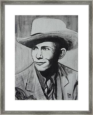 Hank Framed Print by Pete Maier