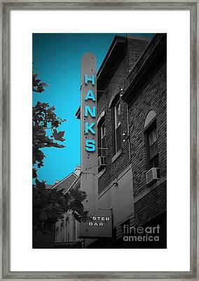 Hanks Oyster Bar Framed Print by Jost Houk